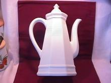 Pfaltzgraff China (Heritage) White Coffee Pot