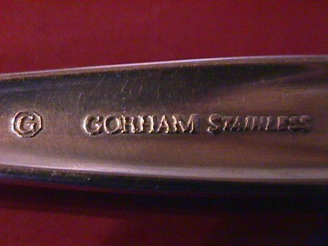 Gorham Stainless (Flower Song) Table Serving Spoon