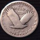 Standing Liberty Silver Quarter Coin 1927-S Very Good Plus Condition