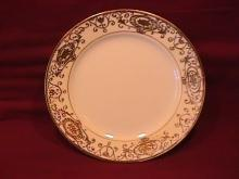 Noritake China-Nippon-(White & Gold) Salad Plate