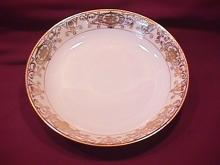 Noritake China (White & Gold) Soup Bowl
