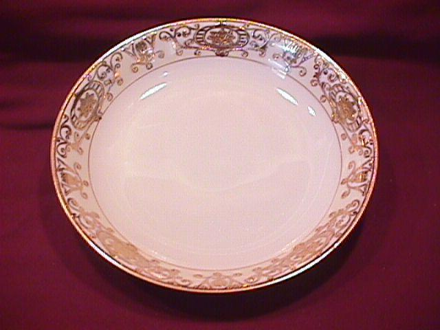 Noritake China (White & Gold) Soup Bowl