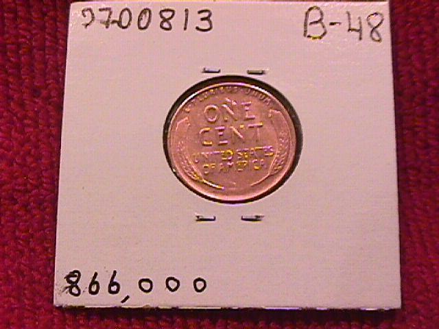 Lincoln Copper Penny 1931-S Mint State #60