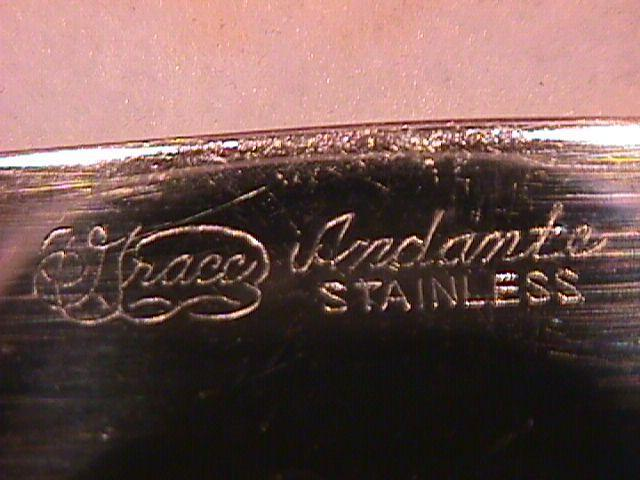 Grace Stainless (Andante) Salad Fork