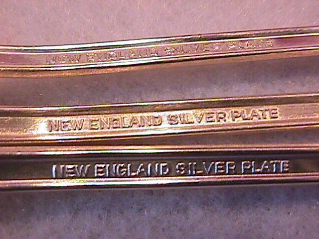 International/New England Silverplate (Rosemary) 1919=3-Iced Tea Spoons