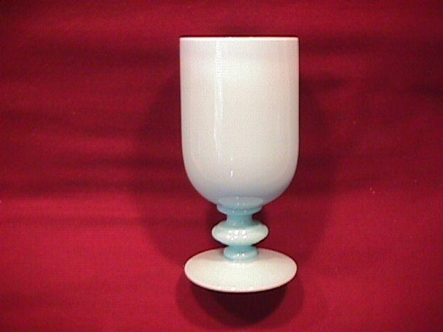 Vallerysthal French Blue Opaline Juice Glass
