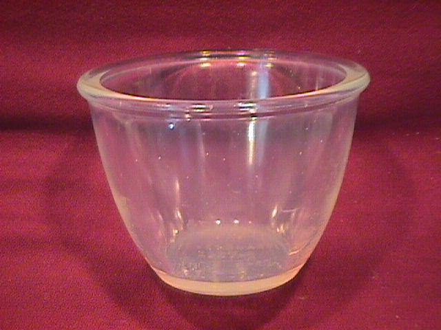 Rare= Fry Oven Glass Custard/Egg Cup
