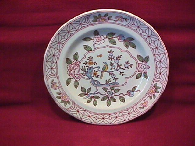 Adams Calyx Ware (Singapore Bird) Cake Plate