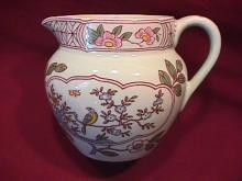 Adams Calyx Ware (Singapore Bird) Creamer