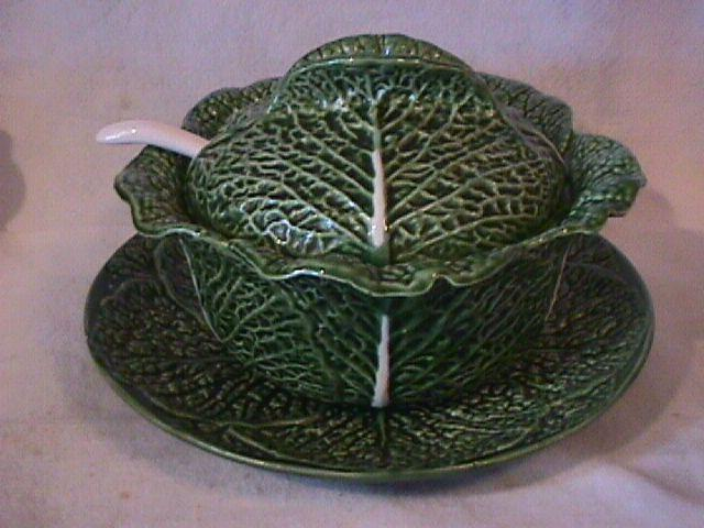 Jay Willfred/Andrea By Sadek (Cabbage) Tureen & Ladle