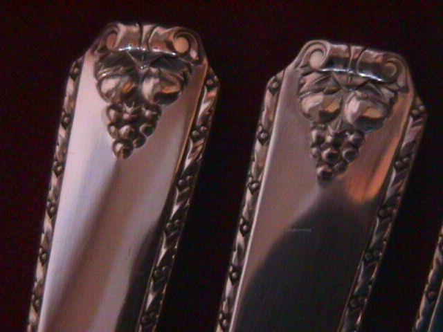 Oneida Silverplate (Bordeaux 1945) 3-Place Spoons