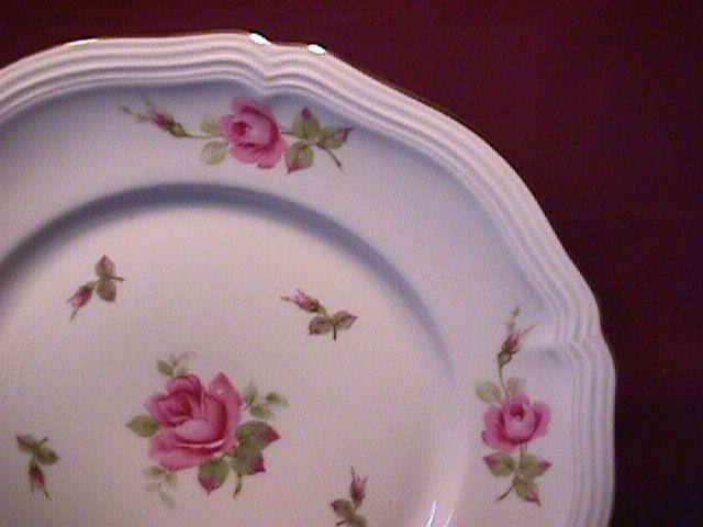 Johann Haviland (Chippendale Rose) Dinner Plate