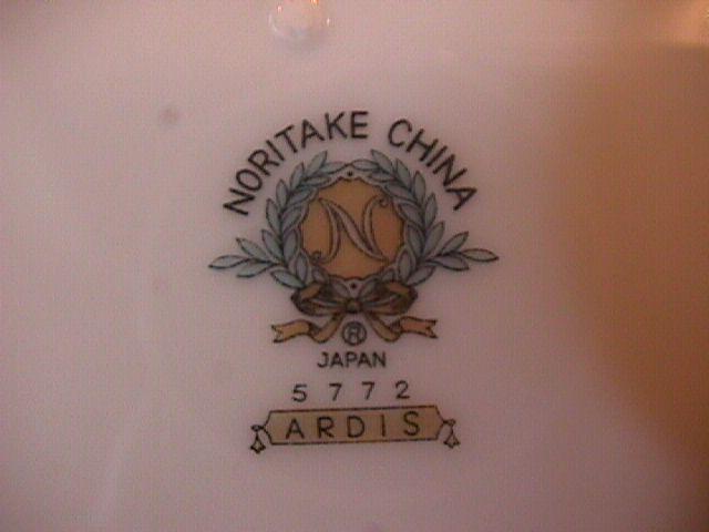 Noritake China (Ardis) #5772 Cup & Saucer