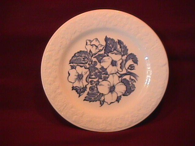 Homer Laughlin (Wild Rose) Cake Plate