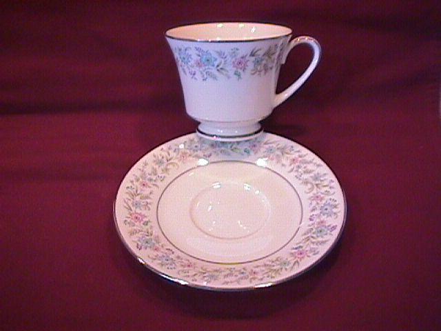 Noritake China (Blythe #2037) Cup & Saucer