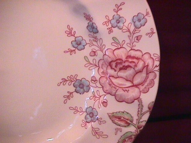 Johnson Brothers (Rose Chintz) Salad Plate