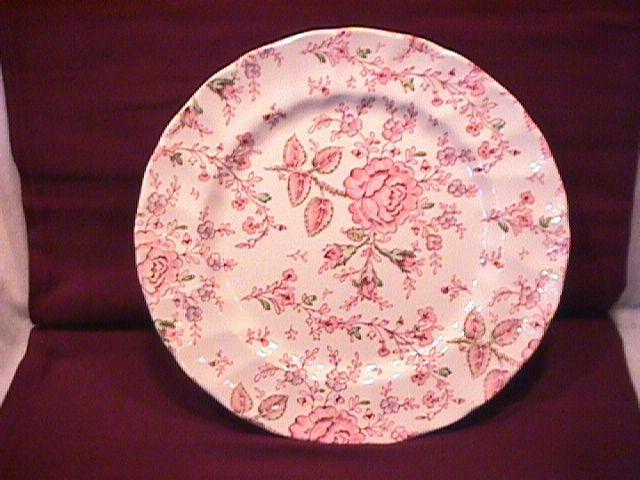 Johnson Brothers (Rose Chintz) DInner Plate