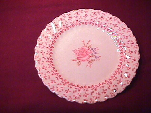 Johnson Brothers ( Rose Bouquet) 2-Cake Plates