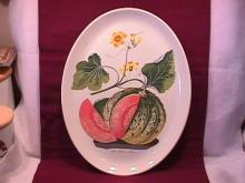 Portmeirion China (American Melon) Ham Platter
