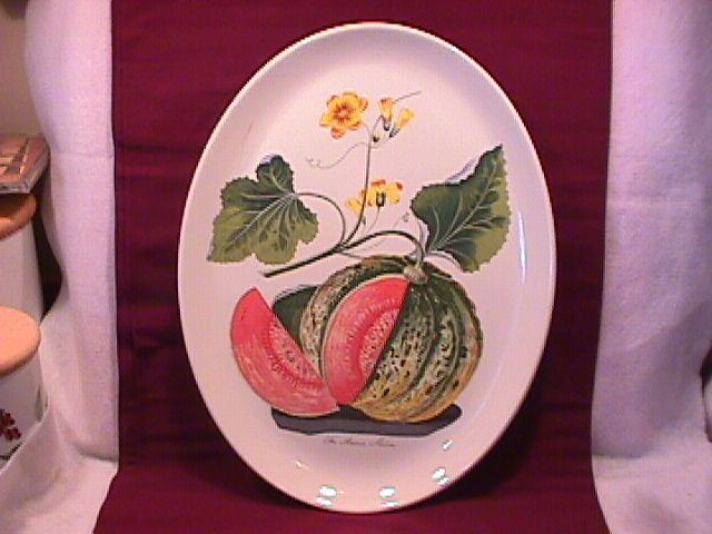 Portmeirion China (American Melon) Ham Platter