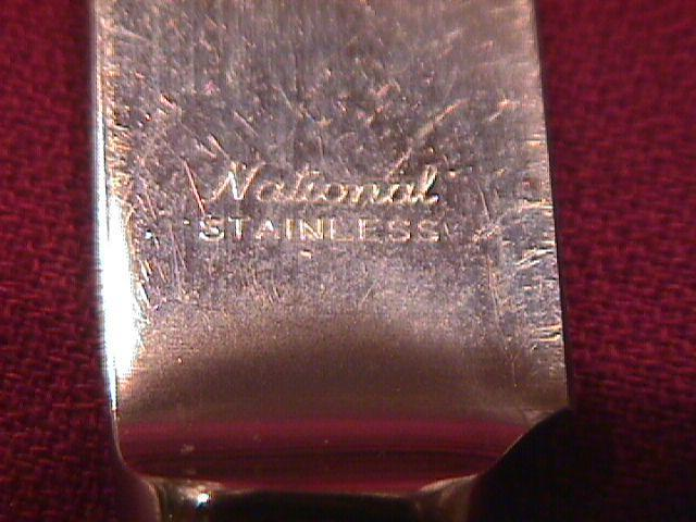 National Sterling (Intermezzo) 1940 Dinner Knife