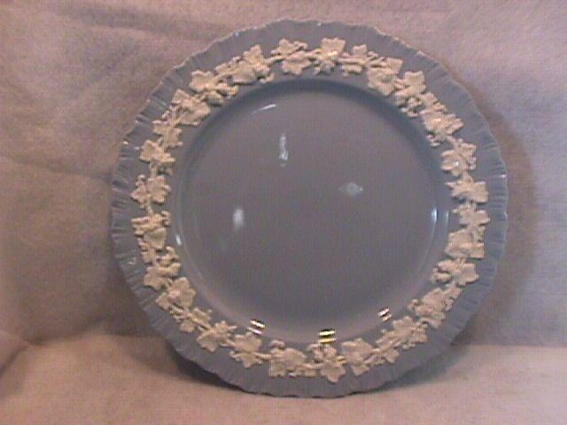 Wedgwood China Embossed (Queensware) Dinner Plate