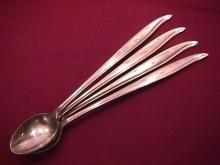 National Stainless (Starette) 4-Iced Tea Spoons