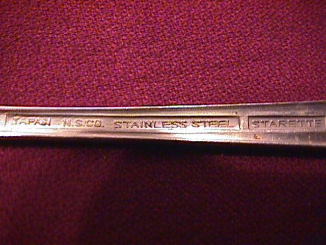 National Stainless (Starette) 4-Iced Tea Spoons