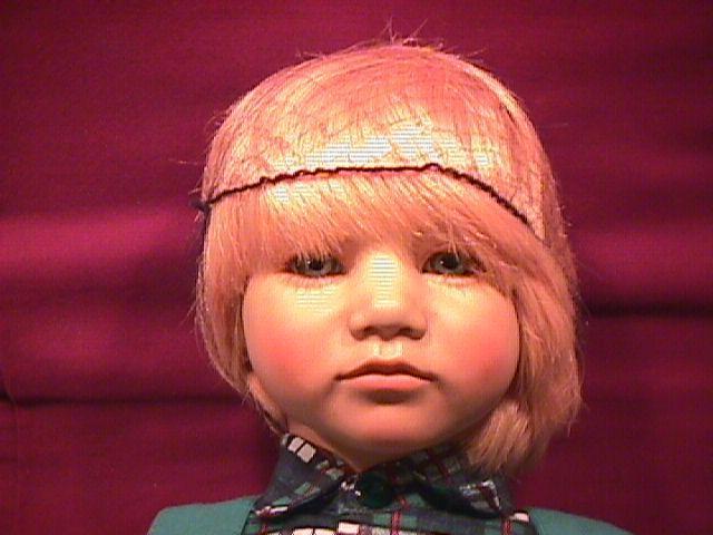Annette Himstedt= Bastian (Barefoot Children)  Boy Doll