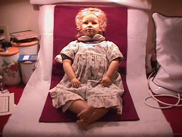 Annette Himstedt= Ellen (Barefoot Children)  Girl Doll