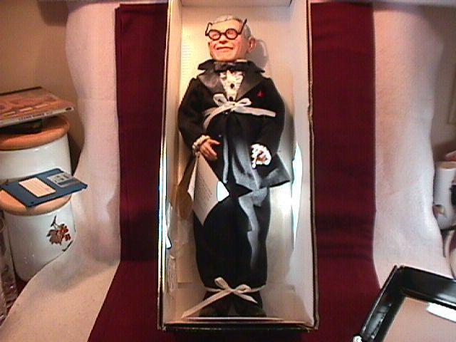 MIB Effanbee-George Burns Doll