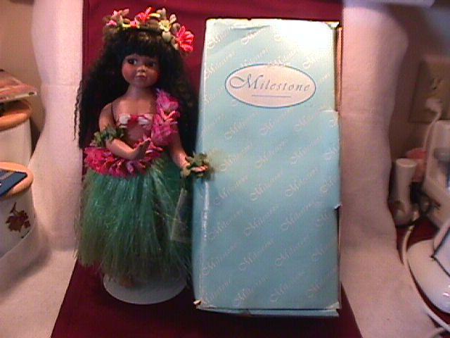 Milestone Hawaiian Girl Doll (Maile)