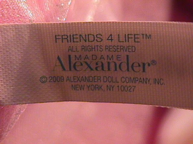 Madam Alexander (Friends 4 Life) Princess Doll