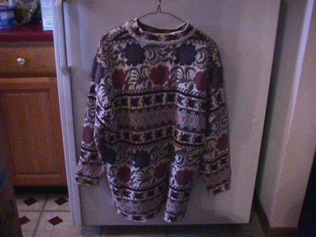 Beautiful Winter Sweater in a Large=Like New