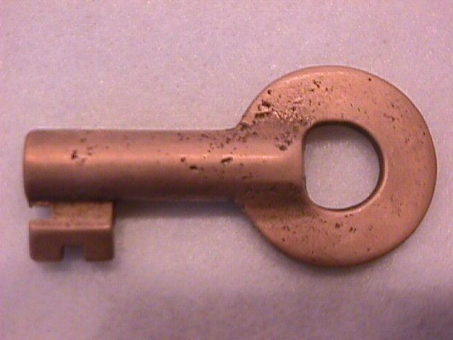 RAILROAD SWITCH KEY BY: UNMARKED . NO  #