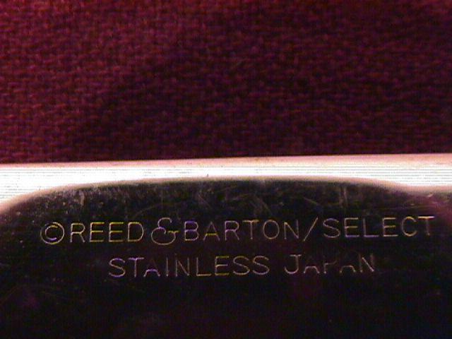 REED & BARTON SELECT STAINLESS