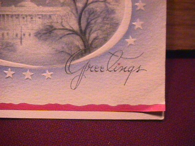 POST CARD / GREETING CARD
