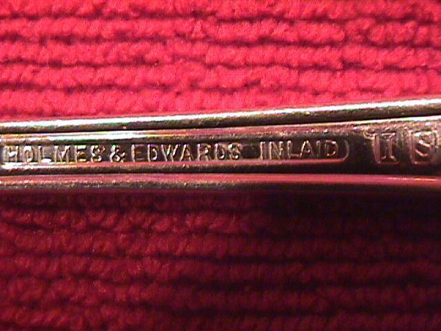 I INTERNATIONAL  / HOLMES & EDWARDS SILVERPLATE