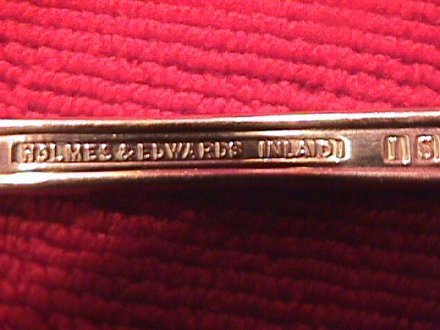 INTERNATIONAL / HOLMES & EDWARDS SILVERPLATE