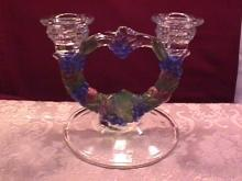 Indiana Glass (Garland) Candlestick