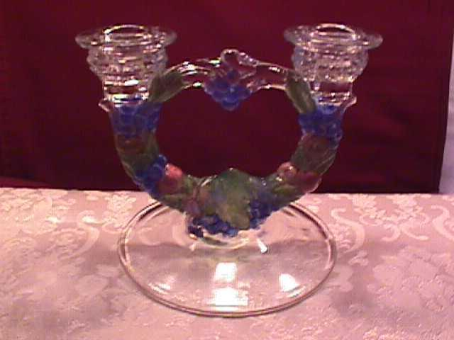 Indiana Glass (Garland) Candlestick