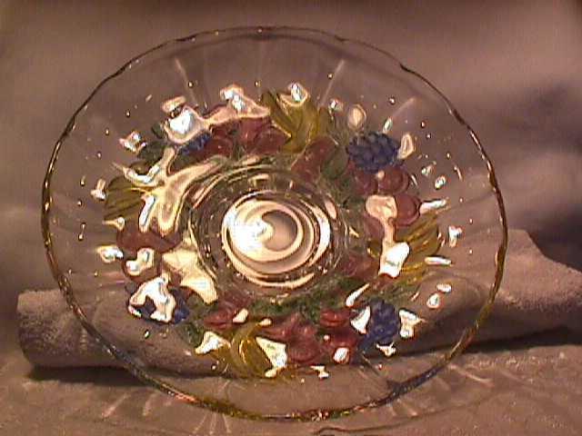 Indiana Glass (Banana Fruit) Console Bowl