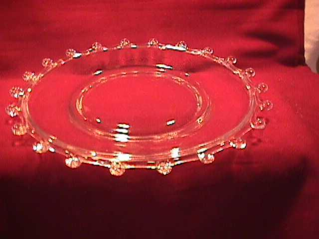 Set of (5) Heisey (Lariat) Salad Plates
