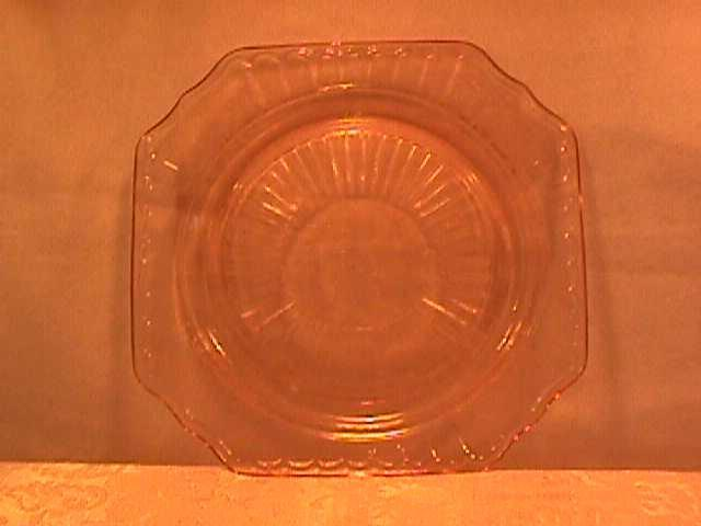 (Mayfair) By Anchor Hocking Luncheon Plate