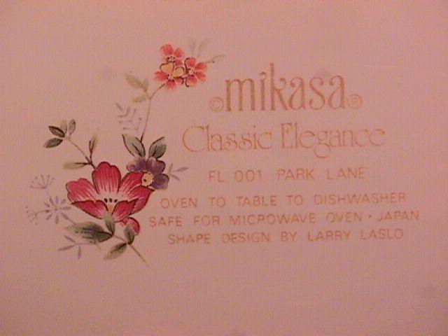MIKASA CLASSIC ELEGANCE