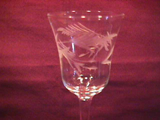 Rock Crystal Set of 4-Cordial glasses