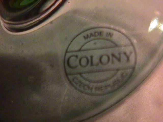 Colony (Brigette) Rainbow Irridescent Wine