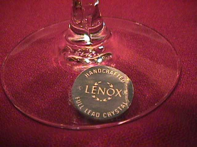 Lenox (Unity) W/Gold Trim Wine