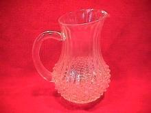 CRIS D'ARQUES / DURAND CRYSTAL  (LONGCHAMPS)  PITCHER 40 .OZ