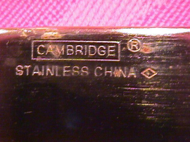 CAMBRIDGE GOLD PLATED STAINLESS